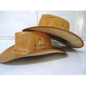 Chapeu Country Cowboy Rodeio - Couro Legítimo