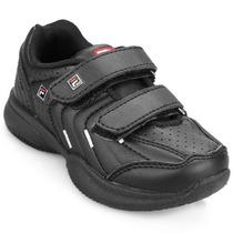 Zapatillas Colegial Fila Lugano Kid Velcro- Sagat Deportes