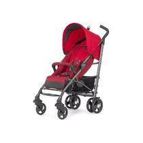 Carrinho De Bebê Passeio Chicco Lite Way- 2 Red Passeio Illl