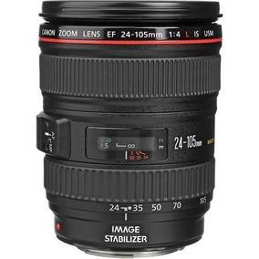 Lente Canon Ef 24-105 F/4l Is Usm Ultrasonic Pronta Entrega