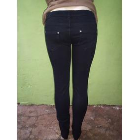 Calça Skinny Strech Preta Tamanho 38