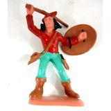 Forte Apache Gulliver - Índio C/ Escudo Pintado A Mão