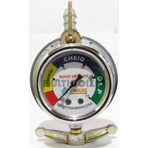 Regulador - Registro De Gás Novo Vergas Glp C/ Manômetro