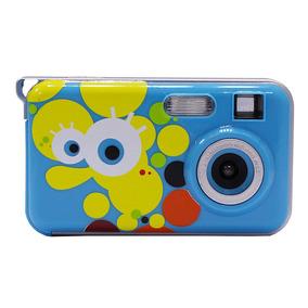 Camara Digital Vivitar Infantil Bob Esponja Lcd Zoom Niños