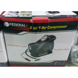 Compresor De Aire 3 En 1 Linterna Luz De Emergencia 12v