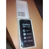 Samsung S6 Edge 32gb Verde + Cargador Inalambrico + Fundas
