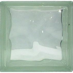 Tijolo De Vidro Gringer Clear Cloudy, 19 X 19 X 8 Cm