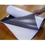 10 Folhas Manta Magnética Adesivada A4 21x30cm Geladeira