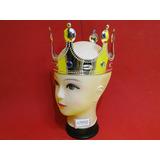 Coroa Rei Rainha Tiara Prata Com Ajuste Adultos E Crianças