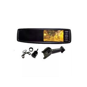 Ajuda Para Estacionar + Monitor De Espelho 4,3 Pol + Camera