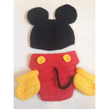 Disfraz Crochet Bebe Mickey. Book De Fotos.