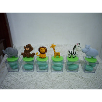 Lembrancinha Maternidade Aniversár Chá Safari Caixa Acrilico