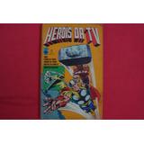 Cx Aau 69 ## Marvel Dc Mangá Gibi Raridade Herois Da Tv 01
