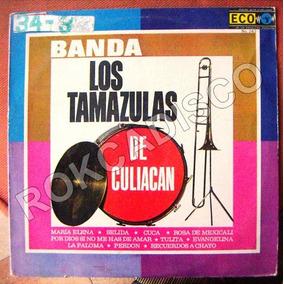 Bolero, Banda Los Tamazulas De Culiacan, Lp 12´,
