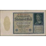 Alemania 10000 Mark 19 Ene 1922 P72