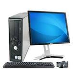 Dell Optiplex 760 2core 2.8 Ghz Lcd 17 4 Ram 80 Dd