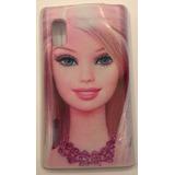 Capinha Capa Case Tpu Barbie Lg Optimus L5