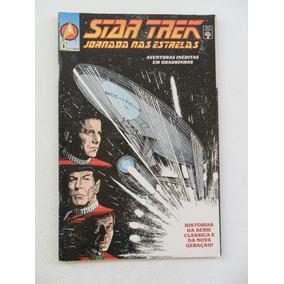 Star Trek Jornada Nas Estrelas Nº 1! Ed. Abril Nov 1991!