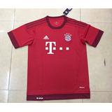 Camiseta Del Bayern Munich De Alemania adidas 2015/16