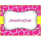 Kit Imprimible Para Tu Fiesta De Animal Print Jirafa