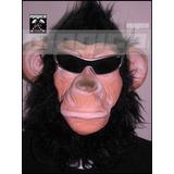 Mascara Halloween De Simio - Mono Importada
