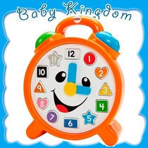 Reloj Parlachin Fisher Price Musical Didactico Enseña Ingles