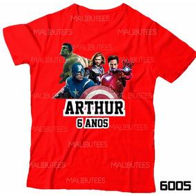 Tags Personalizadas Vingadores - Camisetas Manga Curta no Mercado ... df1ac7b2deb1d