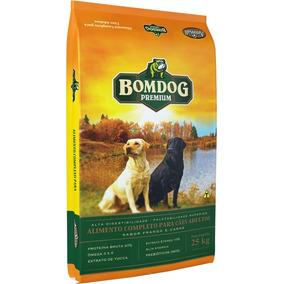 Ração Bomdog Premium Cães Adultos Sabor Carne E Frango 25kg