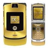 Celular Motorola V3 Dourado Semi-novo Com Defeito