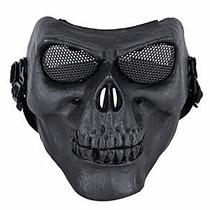 Mascara Careta Tactica De Gotcha Halloween Calavera
