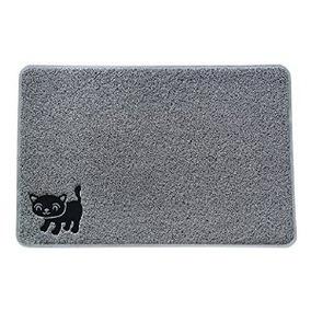 # 1 Calificación Sonreír Litter Patas Premium Gato Mat - Ext