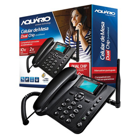 Telefone De Mesa Dual Quadriband Ca-42 Modem Gprs Original