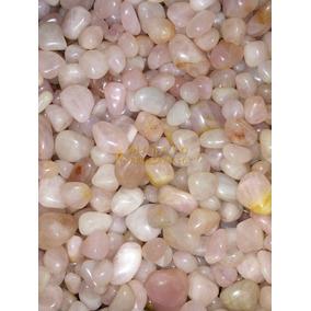 Pedras Rolada Quartzo Rosa 500 G Semi Preciosas 2 A 4 Cm