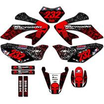 Kit Adesivos Gráficos Para Xr250 Moto Tornado Tor-24