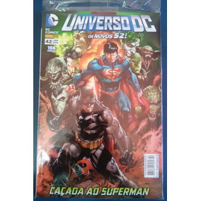 Hq Universo Dc Nº 42 - Caçada Ao Superman. Ed. Jan. De 2016