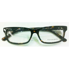 679723b0e70ed Armação Oculos De Grau Tiffany   Co Acetato Marrom Tortoise