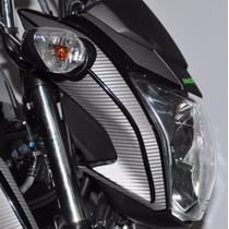 Adesivo Carbono Tuning Carenagem Farol Moto Honda Titan 160