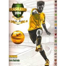 Álbum De Figurinhas Completo Campeonato Brasileiro 2014 (dg)