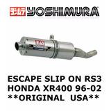 Escape Yoshimura Moto Honda Xr 400 96-02 Original * Oferta *