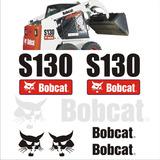 Kit Adesivos Bobcat S130 Kit Completo