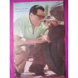 Poster Revista El Grafico - Ernesto H. Blanco Automovilismo