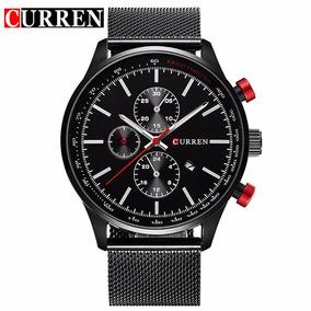 Reloj Curren Caballero Lujo Elegante C Fechador Envio Gratis