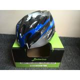 Casco Betwins Mv20 Negro/azul Para Bicicleta Nuevo (@)