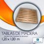 Tabla De Madera Oscura Modelo Economica Lote X 20ud