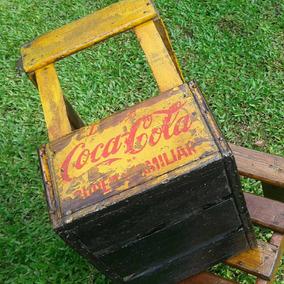 Cajon Antiguo De Coca Cola