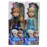 Frozen Muñecas Elsa Ó Anna 45cm Musicales Articuladas + Olaf