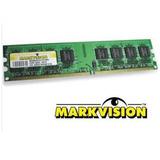 Memoria Ram Ddr2 Markvision 1gb Bus 400mhz Pc Equipo De Mesa