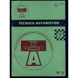 Revista Técnica Automotor N°0 1970 - Mar Del Plata