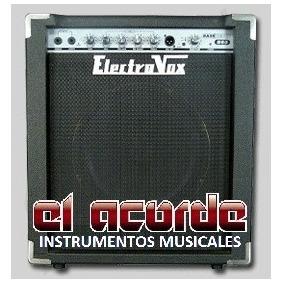 Amplificador P/bajo Electrovox B60 60w - El Acorde Envios No