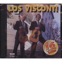 Cd Visconti 16 Gdes.exitos Los Visconti Nuevo